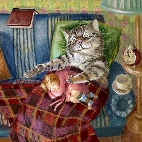 Юмор: Планета Больших Котиков